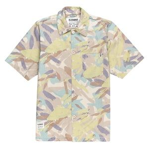 Element Wolfeboro Collection Cabourn Camo Shirt M